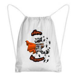 Рюкзак-мешок Super raccoon