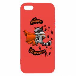 Чехол для iPhone5/5S/SE Super raccoon