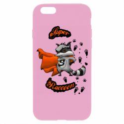 Чехол для iPhone 6/6S Super raccoon
