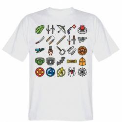 Чоловіча футболка Superhero Icon Set