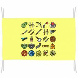 Прапор Superhero Icon Set