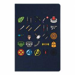 Блокнот А5 Superhero Icon Set