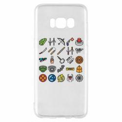 Чохол для Samsung S8 Superhero Icon Set