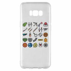 Чохол для Samsung S8+ Superhero Icon Set