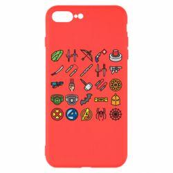 Чохол для iPhone 8 Plus Superhero Icon Set