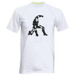 Чоловіча спортивна футболка Superhero Iron Man