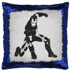 Подушка-хамелеон Superhero Iron Man
