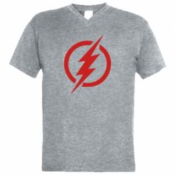 Чоловіча футболка з V-подібним вирізом Superhero logo
