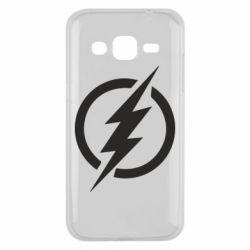 Чохол для Samsung J2 2015 Superhero logo