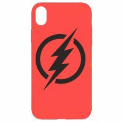 Чохол для iPhone XR Superhero logo