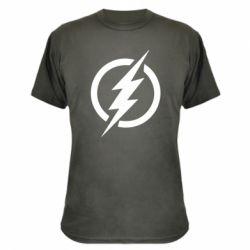 Камуфляжна футболка Superhero logo