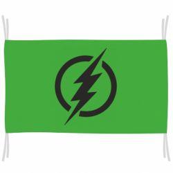Прапор Superhero logo