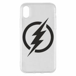 Чохол для iPhone X/Xs Superhero logo