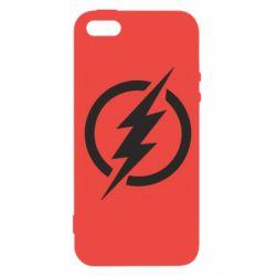 Чохол для iphone 5/5S/SE Superhero logo