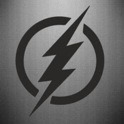 Наклейка Superhero logo