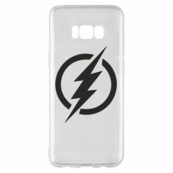 Чохол для Samsung S8+ Superhero logo