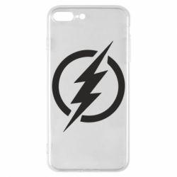 Чохол для iPhone 8 Plus Superhero logo