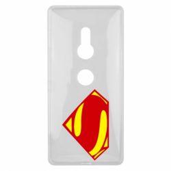 Купить Чехол для Sony Xperia XZ2 Superman Человек из стали, FatLine