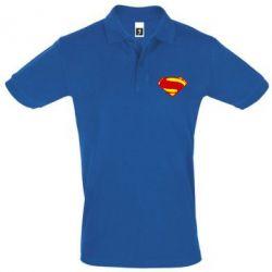 Футболка Поло Superman Человек из стали - FatLine