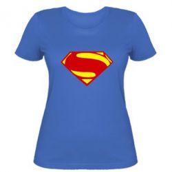 Женская футболка Superman Человек из стали, FatLine  - купить со скидкой