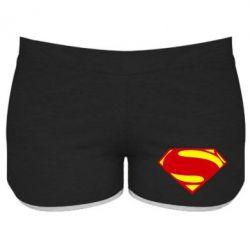 Женские шорты Superman Человек из стали - FatLine