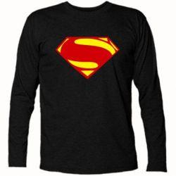 Футболка с длинным рукавом Superman Человек из стали - FatLine