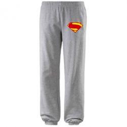 Штаны Superman Человек из стали - FatLine