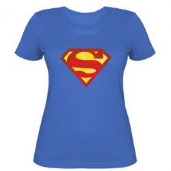Женская футболка Superman Classic