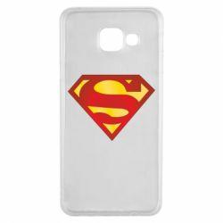 Чехол для Samsung A3 2016 Superman Classic