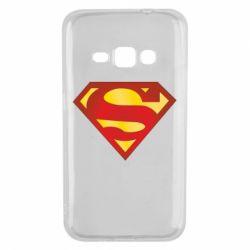 Чехол для Samsung J1 2016 Superman Classic