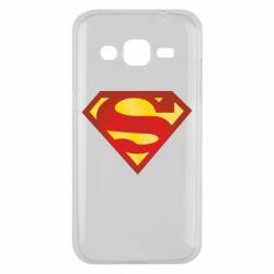 Чехол для Samsung J2 2015 Superman Classic