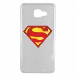 Чехол для Samsung A7 2016 Superman Classic