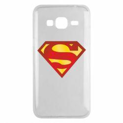 Чехол для Samsung J3 2016 Superman Classic