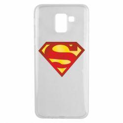 Чехол для Samsung J6 Superman Classic
