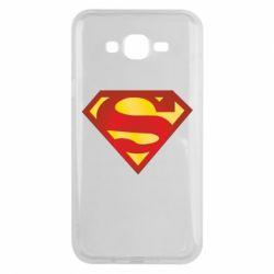 Чехол для Samsung J7 2015 Superman Classic
