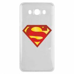 Чехол для Samsung J7 2016 Superman Classic