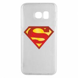 Чехол для Samsung S6 EDGE Superman Classic