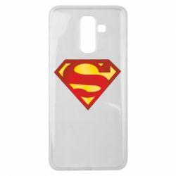 Чехол для Samsung J8 2018 Superman Classic