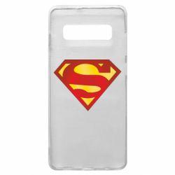 Чехол для Samsung S10+ Superman Classic