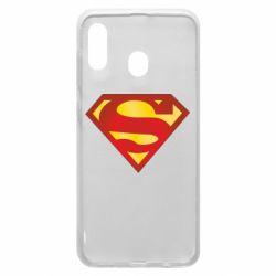 Чехол для Samsung A20 Superman Classic