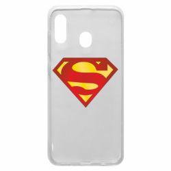 Чехол для Samsung A30 Superman Classic