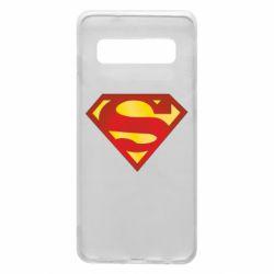 Чехол для Samsung S10 Superman Classic