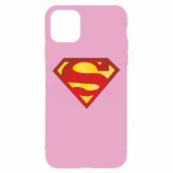 Чехол для iPhone 11 Superman Classic