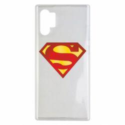 Чехол для Samsung Note 10 Plus Superman Classic