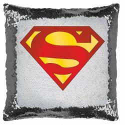 Подушка-хамелеон Superman Classic