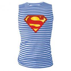 Майка-тельняшка Superman Classic - FatLine