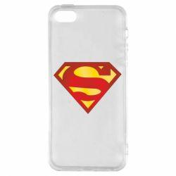 Чехол для iPhone5/5S/SE Superman Classic