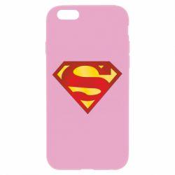 Чехол для iPhone 6 Plus/6S Plus Superman Classic