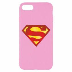 Чехол для iPhone 7 Superman Classic