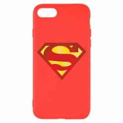 Чехол для iPhone 8 Superman Classic